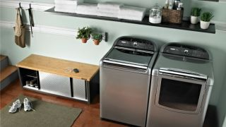 Kenmore Flip Control Dryer Puts Knobs Within Reach