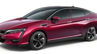 Production Honda Clarity FCV Fuel Cell Sedan Makes U.S. Debut