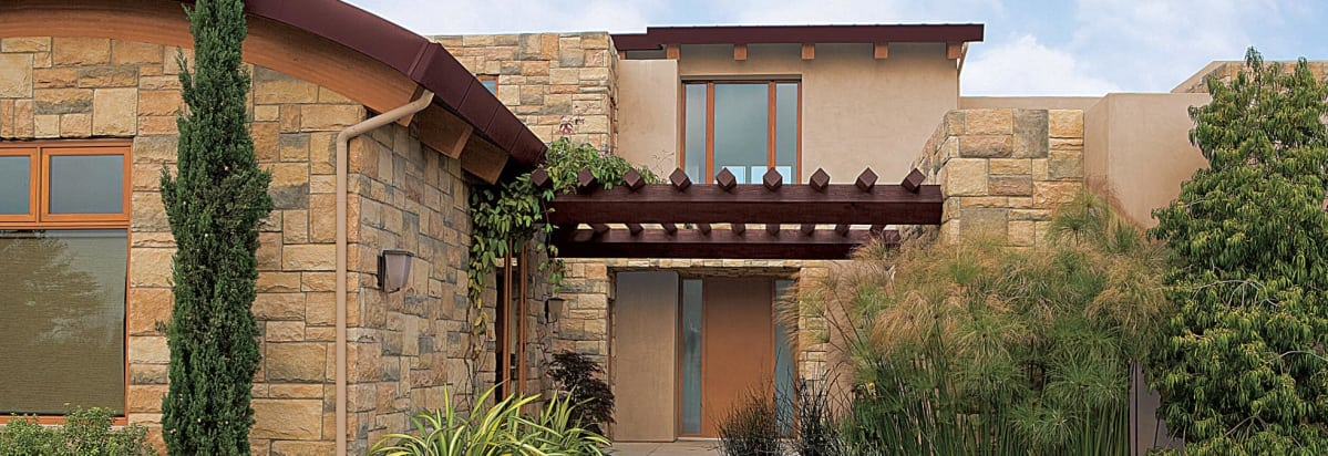 Use Earthy Exterior Paint Colors For Prairie Homes.