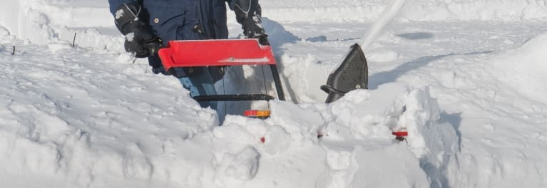 The EGO SNT2102 is one of the budget snow blowers