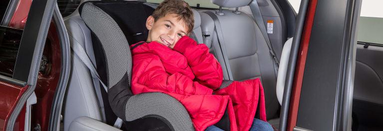 Not Wearing A Coat In Car Seat