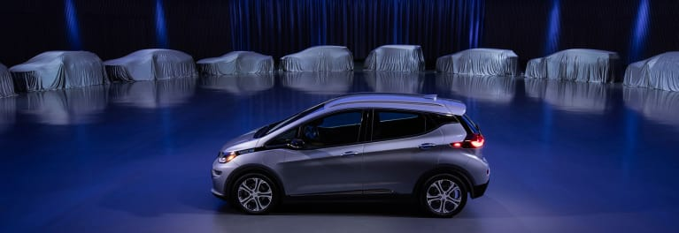 2018 Chevrolet Bolt, one of the GM Electric Cars