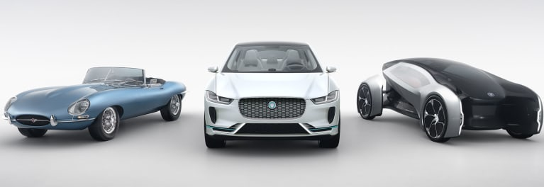 Jaguar electric car concepts