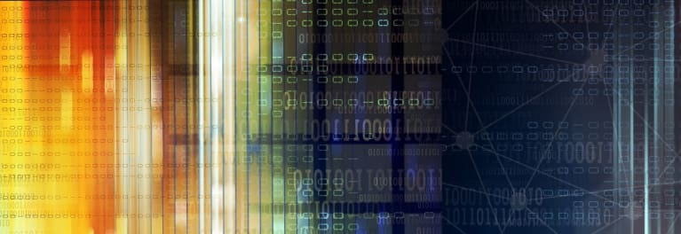 Abstract digital image for article on how to use encryption.