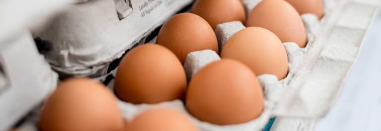 Eggs can be a source of food poisoning
