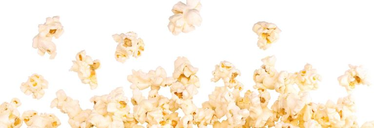 An image of delicious stovetop popcorn.