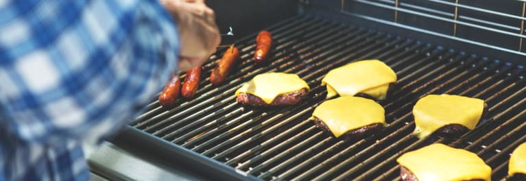 Gas grills to look for at grill sales.