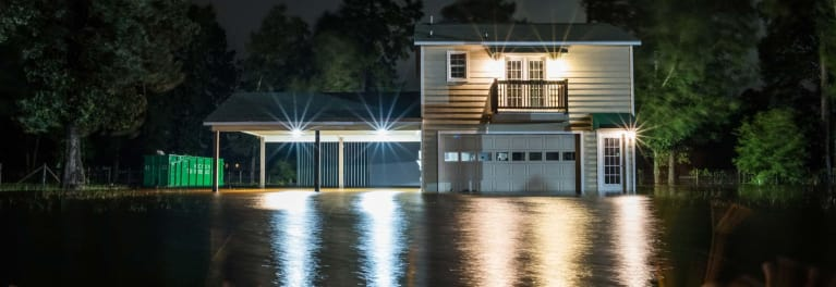 What flood insurance does and does not cover.
