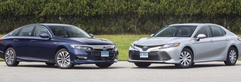 A Honda Accord And Toyota Camry