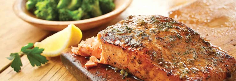 Olive Garden Herb-Grilled Salmon