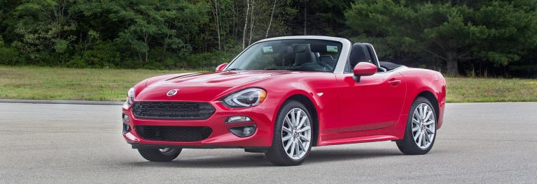 First Drive 2017 Fiat 124 Spider Consumer Reports