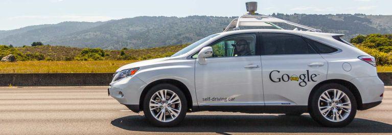 Testing a driverless car