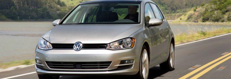 An image of the Volkswagen Golf TDI sedan.