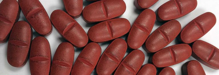 Red yeast rice supplements marketed to lower cholesterol