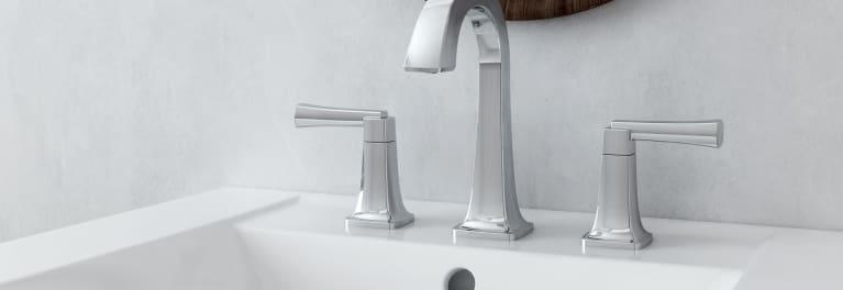 American Standard water-saving bathroom faucet.