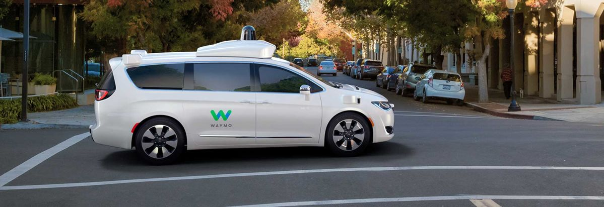 Waymo S New Self Driving Minivan