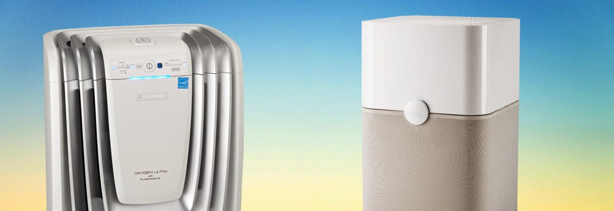 Two air purifiers.