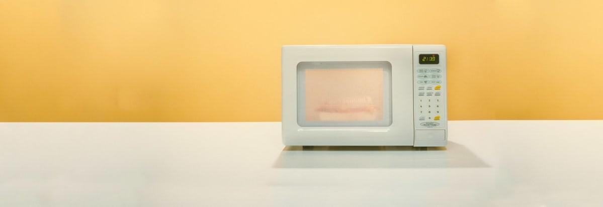 A Countertop Microwave