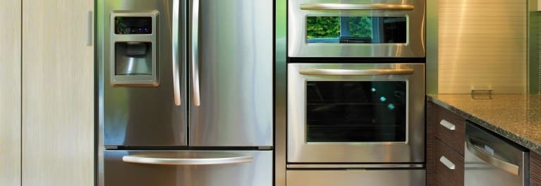 A refrigerator that's one of the best Memorial Day fridge deals