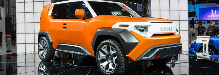 Toyota FT-4X SUV concept preview.