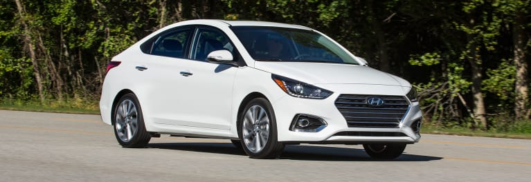 2018 Hyundai Accent driving