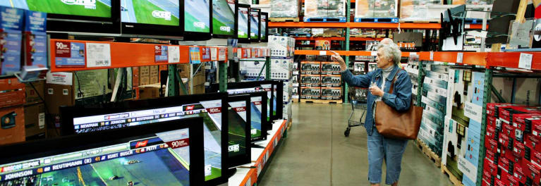 Photo of the Costco Black Friday sale.