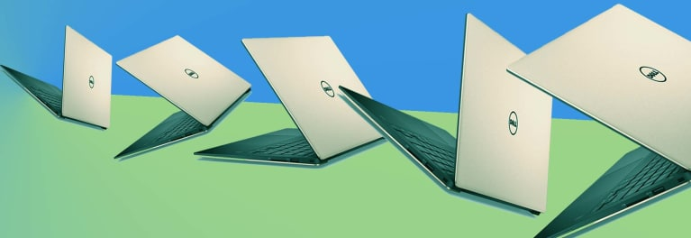 Quad-core processors are coming to mainstream laptops like those illustrated here