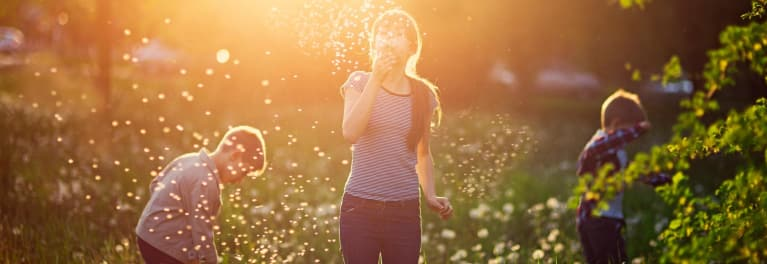 Seasonal allergy symptoms may not be caused by true allergies.