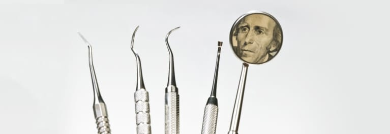 An illustration of tools used by a dentist