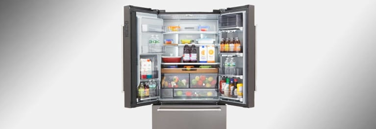 One of the new refrigerators in Consumer Reports' tests.