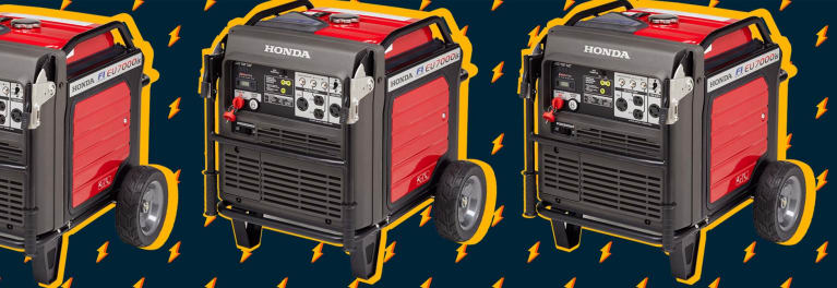 Inverter generators run longer and quieter than conventional generators.
