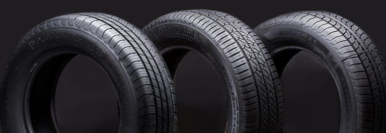 A photo of tires.