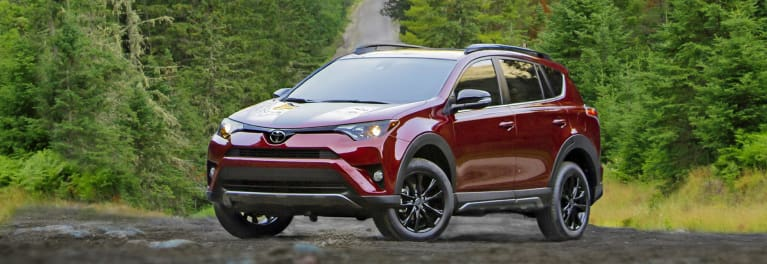 The most fuel-efficient SUV Toyota RAV4 Hybrid.
