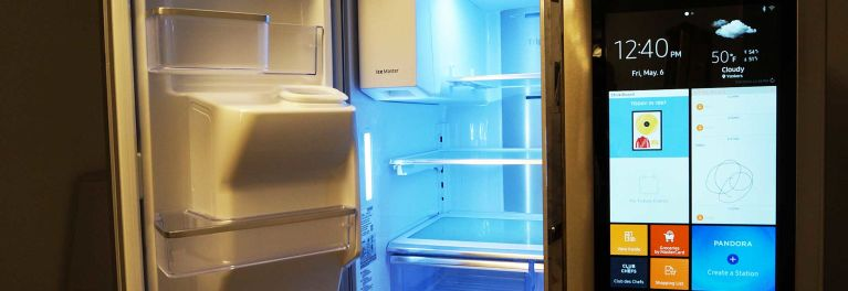 Inside the Samsung Family Hub Refrigerator