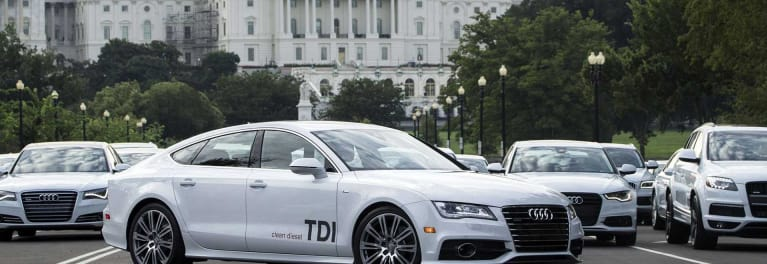 Audi claims cars are clean diesels
