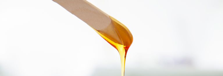 Waxing (shown here) linked to increased risk of STIs.