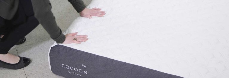 The Cocoon by Sealy bed in a box mattress