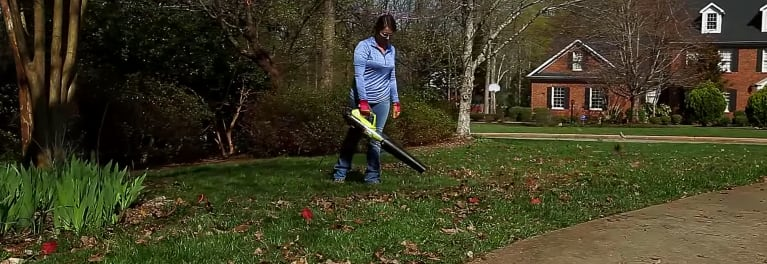 Quietest leaf blowers and mowers