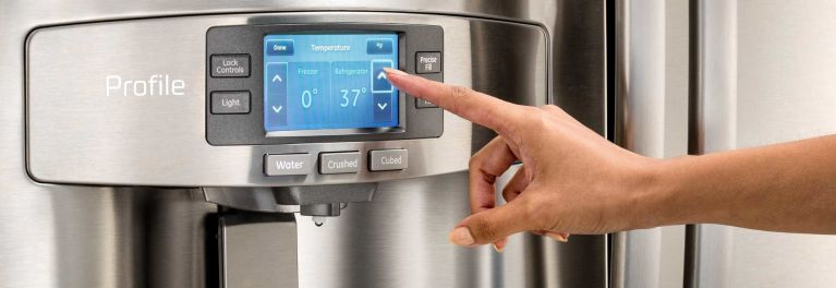How to set the refrigerator temperature.