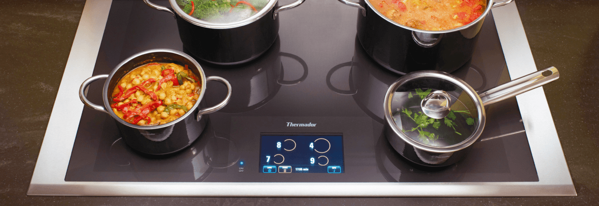 One Of Thermadoru0027s Induction Cooktops.