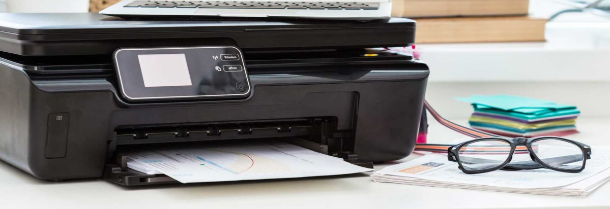 How to get the most reliable printer for your home consumer reports a printer on a desk reheart Gallery
