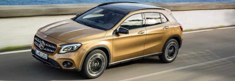 Least Satisfying Mercedes-Benz GLA