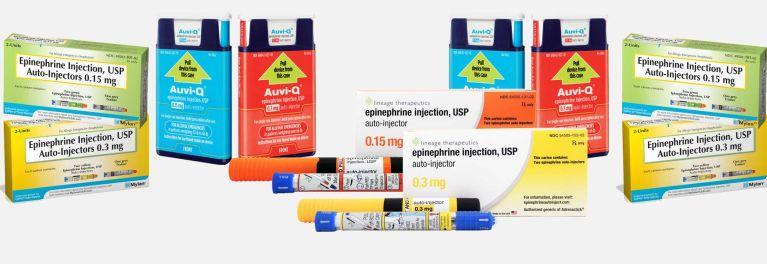 EpiPen alternative options