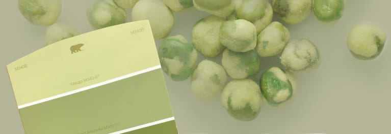 One of the new paint colors, wasabi.