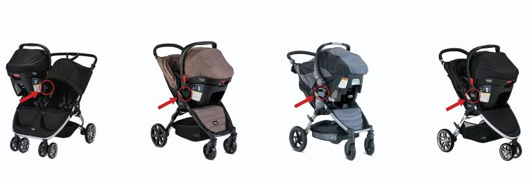 Britax recalls strollers like these.