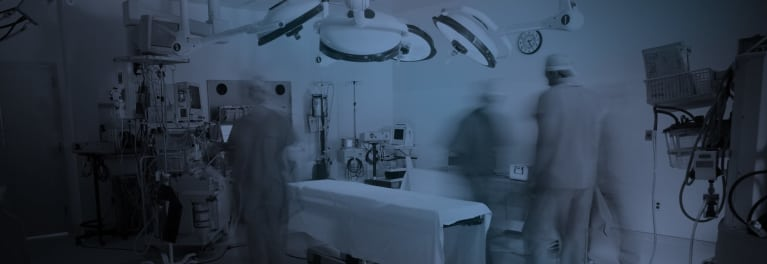 An operating room.