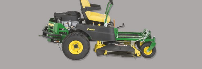 Image of Ztrak mower that's part of the John Deere recall.