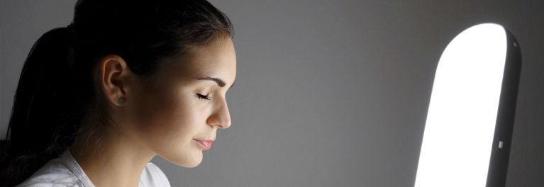 Bright light therapy can help ease seasonal affective disorder
