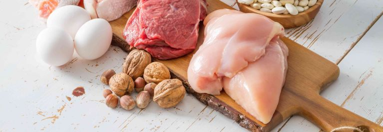 Parts of a high-protein low-carb diet