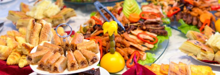 Overeating a holiday feast can cause heart attacks and other health problems.